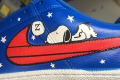 Snoopy Custom Shoe